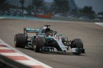 Abu Dhabi: Hamilton sluit het seizoen af in stijl