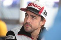 Gebroken bovenkaak voor Fernando Alonso