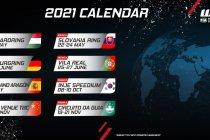 Eurosport Events maakt WTCR-kalender voor 2021 bekend
