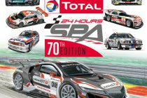 24H Spa: Speciale poster voor 70e edtitie