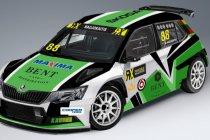 Nerijus Naujokaitis debuteert met Skoda Fabia Supercar in WorldRX