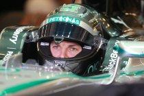 GP Spanje: Nico Rosberg topt eerste vrije training