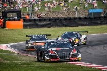 Brands hatch: Een week-end vol contrasten voor het Belgian Audi Club Team WRT
