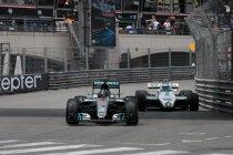 Monaco: Vader en zoon Rosberg demonstreren hun kampioenschapswagens