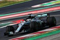 Wintertesten Barcelona: Mercedes boven - Vandoorne uitstekend