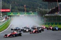 Formule 3: Jack Doohan pakt dubbele zege op drijfnat Spa-Francorchamps