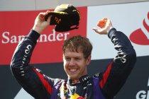 Nürburgring: Vettel houdt Räikkönen af voor de zege