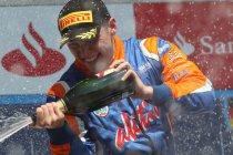 GP2: Nürburgring: Jon Lancaster wint tweede maal op rij de sprintrace