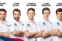 BMW stelt DTM rijders voor