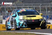 Assen: Tom Coronel bemant Honda Civic TCR Art Car Jean Graton