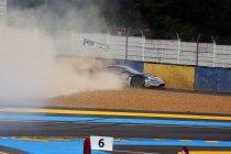 Crashes neutraliseren tweede kwalificatiesessie in Le Mans