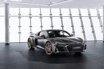 Audi viert tien jaar V10 met speciale editie van R8