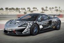 McLaren toont van GT4 afgeleide 620R
