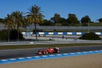 Wintertesten Jerez: Dag 4: Ferrari snel - Mercedes vreet kilometers
