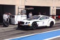 Officiële testdagen: Bentley topt eerste sessie