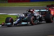GP Groot-Brittannië: Hamilton geeft thuispubliek hoop met snelste rondetijd