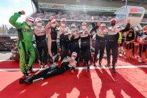 24H Barcelona: Eerste en tweede plaats Herberth Motorsport
