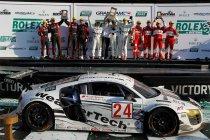 24H Daytona: Dubbelzege in GT voor Audi