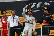 Rusland: Hamilton op titelkoers na dominante overwinning in Sochi
