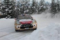 Rally van Zweden: Offensief van Loeb op slotdag