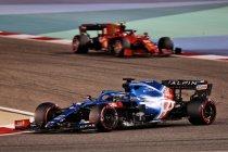 Bahrein: Sandwichverpakking oorzaak opgave Fernando Alonso