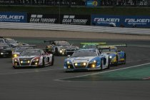 24H Nürburgring: Stippler aan de leiding na 1 uur wedstrijd - Beide Marc VDS wagens in top 10