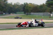 FIA F3: Imola: testdag 1: Jake Dennis klopt Max Verstappen