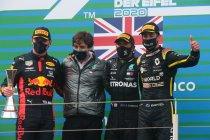 GP Eifel: Hamilton wint, Ricciardo derde