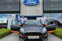 Kenny Herremans rijdt voor FordStore Feyaerts