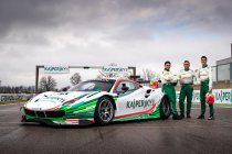 Top trio voor Kaspersky Motorsport