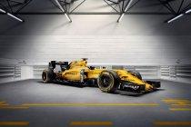 Goud-geel-zwart kleurenschema voor Renault Sport F1 (+ foto's & video)