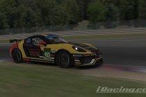Spa: Dominante zege van Flemish Simsports GT4 in Zolder Touring Cup