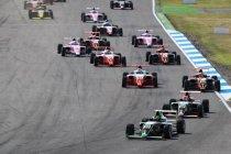 ADAC formule 4: Matig weekend voor Charles Weerts
