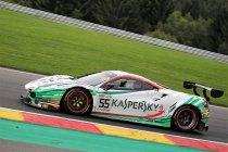 24H Spa: James Calado zet Kaspersky Motorsport Ferrari op pole