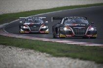 Slovakia Ring: Belgian Audi Club Team WRT vooraan bij de vrije trainingen