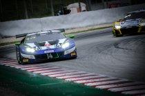 Barcelona: Ricardo Feller (Lamborghini) sneller dan de regen