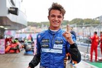 GP Rusland: Lando Norris pakt allereerste pole