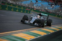Australië: Hamilton eveneens primus in vrije training 2 - Rosberg crasht