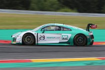 24H Spa: Vrije Training: Land Motorsport snelste algemeen - Machiels primus in Pro-Am