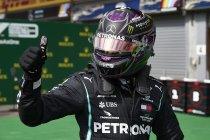 België: Hamilton met de vingers in de neus