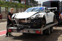 Speedlover-Porsche start niet vanaf pole na zware crash