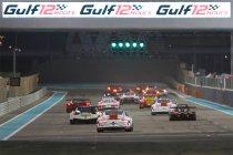 Gulf 12H: 13 GT3's en 8 LMP3's op voorlopige deelnemerslijst
