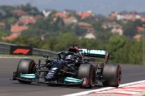 GP Hongarije: Hamilton dominant op pole, Verstappen derde