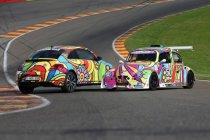 "25H VW Fun Cup: Kirsten Flipkens en Niels Albert stellen hun ""Flower Power"" VW Fun Cup voor"