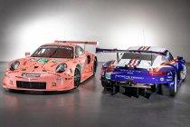 Porsche tooit wagens in retro livery