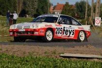 Ypres Historic Rally: Kampioenschapsrijders Paul Lietaer & Tom Van Rompuy doen goede zaak
