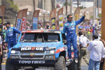 Etappe 1: Nabeschouwing Chevrolet team EVR