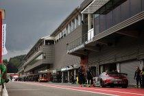 Spa-Francorchamps komende maandag weer in actie