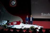 Charles Leclerc en Marcus Ericsson rijden voor het Alfa Romeo Sauber F1 Team