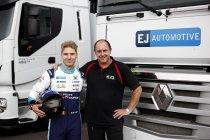 17-jarige Milan De Laet debuteert met EJ Automotive